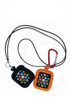 사과 시계 시리즈 6 SE 5 4 3 2 3 300pcs / lot 로프 버클 용 실리콘 케이스 커버