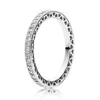 Fanshi Quergrenze Heißer Verkauf Ewiger Herz Ring Temperament Gelenkring Mode Einfache Pfirsich geformt für Padra WeddingHollow Out Ring