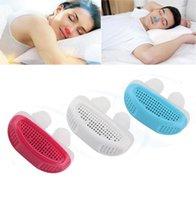 Multi-funcional Anti Snore Dispositivo purificador de ar aliviar ronco ronco parando dispositivo dormindo ajuda mini dispositivo ronco