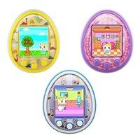 Mini Mascotas electrónicas Juguetes 8 Mascotas en 1 Virtual Cyber USB Cargando Micro Chat Mascota para niños Para Niños Regalo de adultos LJ201105