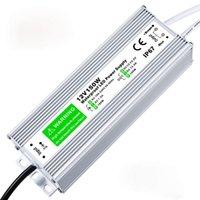 سائق الصمام، ومقاوم للماء IP67 امدادات الطاقة 12V DC محول محول أرق والتحمل والجهد المنخفض التيار الكهربائي عن قطاع LED أضواء النيون