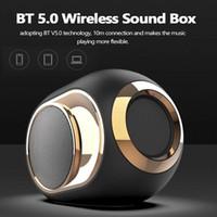 X6 Bt 5,0 alto-falantes estéreo surround Música Baixo Speaker Tws portátil Altifalantes Outdoor