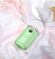 USB-Lade Sprayer Luftbefeuchter Makronen Nano Hand Gesicht Dampfer Moisturizer Skincare Vapor feuchtigkeitsspend Humidificador Kälte GGB2442 Spray