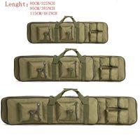 80 cm 95 cm 115cm tático rifle duplo transportar mochila tan caça duelo arma arma integrada pistola casos de pistola frete grátis 201022