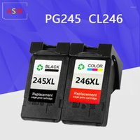 PG245 CL246 Mürekkep Kartuşları Yedek Canon PG 245 PG-245 CL 246 Için Pixma IP2820 MX492 MG2924 MX492 MG2520 Yazıcı1