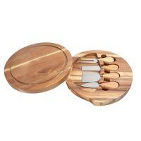 مقبض خشبي الجبن السكاكين مجلس مجموعة الجبن سكين القطاعة شوكة مغرفة القاطع أدوات الطبخ مفيدة مع قطع الخشب
