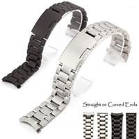 Guarda Bands 18-24mm BNAD Cinturino in acciaio inossidabile Stell Deployment Speed Master Wrist1