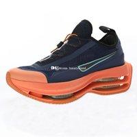 남성 스포츠 신발 남성 스니커즈 여성 운동화 여성 운동화 남자 트레이닝 여성 운동을 위해 신발을 실행 두 번 스택 ACG 블루 오렌지