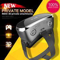 V3H 3D VR BOX نظارات 3D سماعة INTERGRATED VR BOX تشمل الروبوت نظام التشغيل مع DHL شحن مجاني