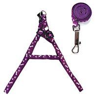 11 estilos creativos perro correa de nylon impresión ajustable pet pet collar colorido impreso pecho trasero al aire libre mascota collar corbata accesorios OOE2729