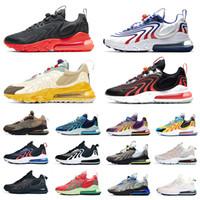 270 airmax Stock X Travis Scott Cactus Jack Trails 270 React ENG Mens Running shoes Royal Blue Blackened Blue 270s Men women sports designer sneakers 36-45