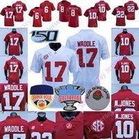 NCAA College Alabama Football Jersey Devonta Smith John Metchie III Mac Jones Jaylen Waddle Najee Harris