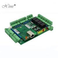 Controllo di accesso alle impronte digitali TCP / IP Quattro porte Pannello 30000 Capacità della carta con Wiegand WG Board C3-400 System1
