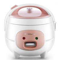 Fogões de arroz 220 V 2L Bonito Mini Fogão Pequeno 2-3 pessoa Eletrodomésticos Casa de cozinha com cabo1