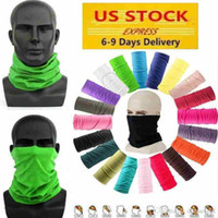 US Cycling Unisex Magic Head Face Protective Mask Neck Gaiter Biker's Tube Bandana Scarf Party Wristband Beanie Cap Outdoor