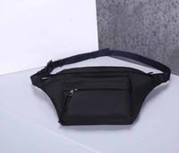 Fannypack Designer Bolsas de la cintura Material de la lona Diseñador Belotear Bolsos Fannypacks Bolsa Hombre Capacidad de gran capacidad Bolsas de cintura