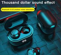A6 digital display tws bluetooth headset 5.0mini in-ear binaural wireless headphone cross-border headset earphone earbuds hot