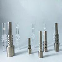 Titanium portatile Nail 10mm14mm18mm Unghie in titanio maschile femmina pratiche con tubi filettati accessori VT1977