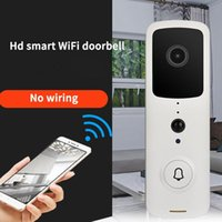 Smart Sonnette caméra sans fil WiFi Vidéo Sonnette Smart Phone Porte Anneau Intercom pour téléphone Accueil Caméra de sécurité