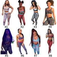 Donne 2 pezzi Etika Set Costume da bagno Designer Tracksuit Tronchi Boxer Top Gilet Ladies Fashion Patchwork Swimwear Camo
