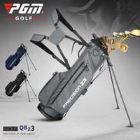 Pgm Golf cremalheira Bag Mens Mulheres Bola Padrão Clube Saco portátil de grande capacidade Durable Anti-fricção Golf Gun Capa Bag Esporte Bolsas 201027