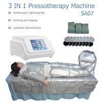 3 en 1 infrarrojo de infrarrojos lejanos Piernas de circulación de sangre Máquina Cuerpo Adelgazante Sistema de terapia metabólica linfática