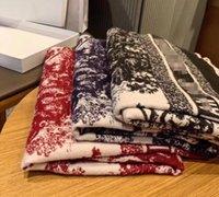 Классический дизайнер кашемировый шарф для мужчин и женщин зимний кашемиер дизайн большие буквы шаблон кашемировые пашмины шали шарфы A95