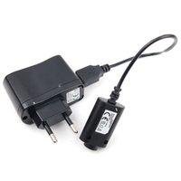 Установите электронное зарядное устройство для сигарета USB-зарядные устройства кабеля US / EU / AU настенный адаптер для эго e ego-ce4 / t / k / w