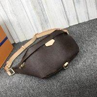 kadınlar için klasik bel çantaları crossbody göğüs Çanta bayanlar gerçek deri kanvas handbags'in desginers çantası adam boyutunu açık: 37x14x13CM
