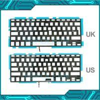 """Tastiere per la sostituzione del computer portatile US / UK Keyboard retroilluminato per Pro 13 """"A1278 Retroilluminazione 2009 2010 2011 2012 Anno1"""