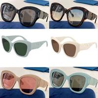 2021 womans gato olho óculos de sol mulher óculos de sol mulheres moda óculos de sol fishbone espelho perna design óculos 0808 com caixa original