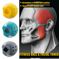 DHL de alimentos gel de sílica gel jawline exercício esferográfica muscle trainin fitness bola garganta rosto toning maxilar muscular treinamento