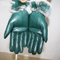 Touch Screen Gloves Female Genuine Leather Warm Glove 2020Ne...