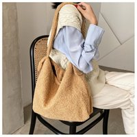 Purses Lambswool Soft Bags For Warm Hand Totes Fur Plush Faux 6529 Handbags And Shoulder Lady High Women Bag Winter Capacity Rmmkl