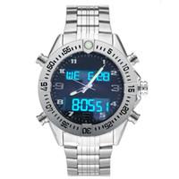 Professionelle Herren Designer Uhren Dual Time Zone Elektronische Zeigeranzeige Luminous Chronograph Armbanduhren Montre de luxe Luxusuhr