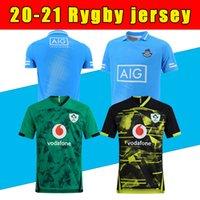 2020 2021 Irland Rugby Jerseys 2020 Weltmeisterschaft Irland Nationalmannschaft Home Away Rugby Mens S-5XL Liga Hemd Top Qualität