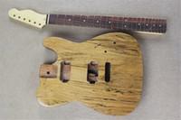 Электрический гитарный комплект (запчасти) палисандр натуральный деревянный деревянный цвет Электрическая гитара с бассовым кузовом, предложение на заказ