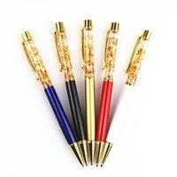 أقلام حبر جاف جميلة و الراقي 24 كيلو الذهب احباط هدية للأصدقاء