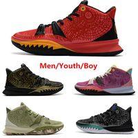 Yeni Sıcak K 7 Erkek Basketbol Ayakkabı Gençlik Eğitmenler Patrick Squidward Mr.Krabs 7 S Sünger Sandy Erkekler Açık Spor Sneakers 36-46