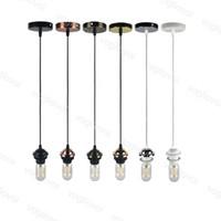 펜던트 램프 1M 와이어 85-265V 레트로 산업 스타일 E27 교수형 램프 실내 조명 식당 레스토랑 커피 바 DHL