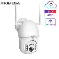Caméras Inqmega 4MP Cloud IP Caméra PTZ Speed Speed Dome Cam WiFi Sécurité de plein air Sécurité de plein air Sécurité étanche