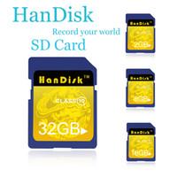 Handisk SLR 카메라 SD 카드 1백28기가바이트 64기가바이트 32기가바이트 16기가바이트 8기가바이트 4기가바이트 2기가바이트 메모리 카드 CE FCC 인증서 1 년 WTY Dropshipping를 브랜드의 새로운