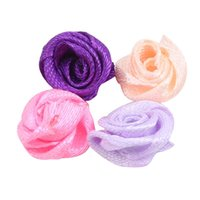 100pcs pack Artificial Flowers Heads Fake Rose For Home Wedding Decoration Valentine's Gift DIY Bear Accessories Decor Decorative & Wreaths