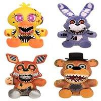 18 cm Yeni Varış Beş Gece Freddy 4 FNAF Peluş Oyuncaklar Freddy Bear Foxy Chica Bonnie Peluş Yumuşak Dolması Oyuncaklar Çocuklar Için Hediyeler