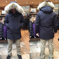Para hombre de invierno por la chaqueta con capucha gruesa Puffer chaqueta chaqueta de la capa de los hombres abajo de las chaquetas de los hombres parejas de mujeres parka de invierno chaquetas de la capa de Norther