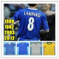 Rétro Hot 80 82 03 12 Lampard Gudjohnsen Hasselbaink Soccer Jersey Veron Mutu Drogba 2012 2012 Terry Robben Classic