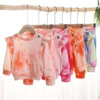 2020 New Autumn baby clothing sets long sleeve tops + bow tr...