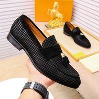 Italienische Herren Kleid Schuhe Echtes Leder Oxfords Luxus Männer Hochzeitsschuhe Party Ganze Schnitt Formale Schuhe Für Männer Große Größe US 5,5-11
