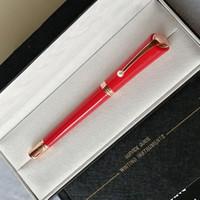 고품질 펜 Muses Marilyn Monroe 시그니처 펜 럭셔리 금속 볼펜 펜 롤러 펜 롤러 펜 사무실 학교 공급 진주 캡