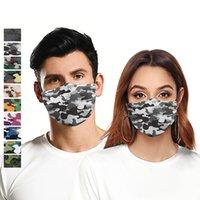 Floral Camouflage Digital Print 3d Breathable Mouth Anti Dust Reusable Face Mask Designer Masks T2i51124